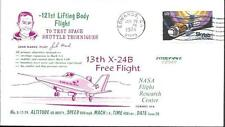 US Space Cover 1974. X-24B Lifting Body Flight 41. John Manke. Shuttle Tests