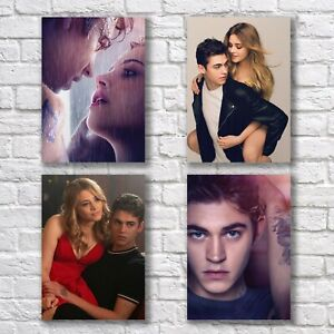 After 2 Poster A4 Set Print Hero Fiennes Tiffin Josephine Langford Wall Decor