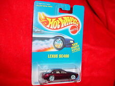 HOT WHEELS #264 LEXUS SC400 WITH RARE WHITE 5 DOT RIMS FREE USA SHIPPING