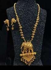 Indian Baahubali Necklace Pendant Set With Earring Women Wedding Bridal Jewelry