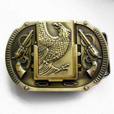 BC056 Boucle de ceinture Modèle Aigle American Legend avec briquet