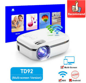 5G WiFi Mini Smart Phone Projector TD92 Native 720P 1080P Video 3D Home Proyecto