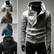 Fashion Stylish Creed Hoodie men's Cosplay Assassins Cool Slim Jacket Costume