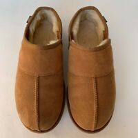 UGG Leisure Slip On Men's Suede Shoes Chestnut 8 M