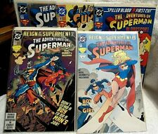 LOT of 27 DC SUPERMAN Comic Books #502, 503,505, 507, 508 in sleeves