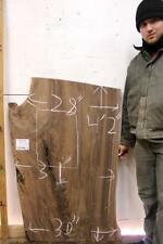 Natural Walnut Coffee Table Top Rustic DIY Live Edge Tabletop Wood Slab 5574c3