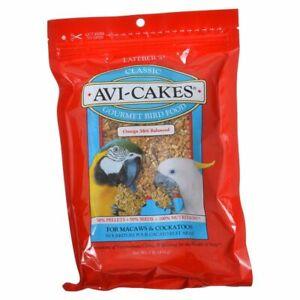 LM Lafeber Classic Avi-Cakes Gourmet Macaw & Cockatoo Food  16 oz