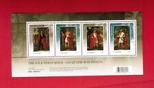 2010 TIMBRES CANADA STAMPS  SOUVENIR SHEET( Mn)  # 2383b   FOUR INDIAN KINGS J19