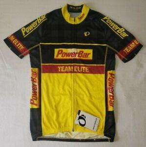 Pearl Izumi Power Bar Team Elite Men's Yellow/Black Cycling Jersey XL NWT