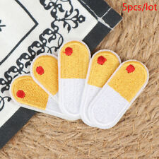5PCS Bandage Embroidery Repair Patches Bag Jacket Jeans Iron On Patches  ZB