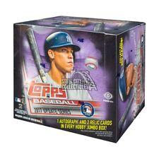 2017 Topps Update Baseball HTA Jumbo Hobby Box