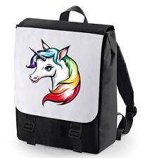 UNICORN BACKPACK BAGBASE PERFECT FOR SCHOOL MAGIC CREATURE BEAUTIFUL HORSE