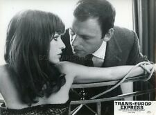 JEAN-LOUIS TRINTIGNANT TRANS-EUROP EXPRESS 1966 PHOTO ORIGINAL #4 ROBBE-GRILLET