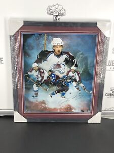 Peter Forsberg Signed Framed 20X24 Photo Avalanche Collage Colorado /50 UDA