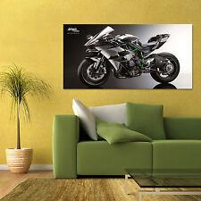 KAWASAKI NINJA H2R TRACK STREET HYPER BIKE MOTORCYCLE HD POSTER 24x48 in