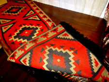 "New Table Runner 16"" x 80 "" Southwestern Superior Quality!dark red"