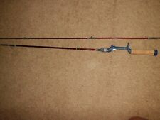 NOS Vintage Sears Roebuck JC Higgins 309.33680 6' Fiber Glass Baitcasting Rod