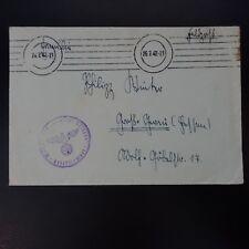 ALLEMAGNE LETTRE FELDPOST BRIEF 26.07.1942
