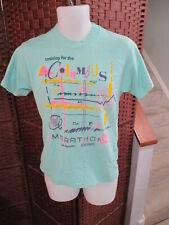 VTG Screen stars Columbus Marathon T shirt 1988 Size medium Retro Running