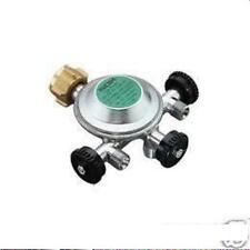 Gas Regler 50mbar Gasregler Combi Druckregler Absperrventil 3fach 70120Lg NEU