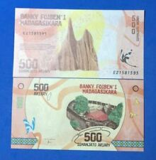 Madagascar P-99 500 Ariary Year 2017 Uncirculated Banknote AUCTION