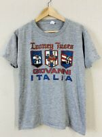 Vintage 1986 Looney Tunes Italia Warner Bros Super Soft 50/50 T-Shirt Sz M
