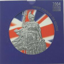 2004 10 Proof Coins UK Royal Mint Uncirculated Human Achievement Unopened