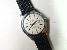 mens watch Chromium p Red Arrow second Vintage 17 j Louvic Swiss wind-up Vicflex
