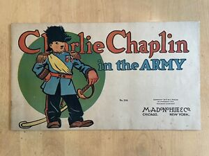 Charlie Chaplin in the Army #318 (Essanay/M. A. Donohue & Co., 1917)