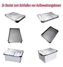 2xDeckel f. Aufbewahrungsboxen Deckelboxen Kistendeckel Geschenkbox Ersatzdeckel