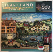 Catch Of The Day 500 Piece Puzzle Heartland Bonnie White