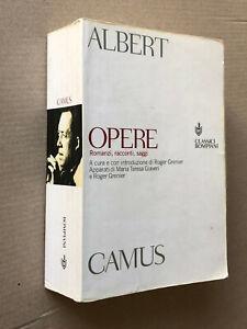 Albert Camus - OPERE - Classici Bompiani 2000