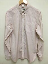 Timberland Men's Stripe Button Down Shirt Smart Size Medium Regular Fit