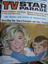 TV Star Parade August 1968 Magazine Doris Day, Dack Rambo Star Trek, Greg Morris