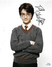 Daniel Radcliffe Signed Harry Potter 10x8 Photo AFTAL ACOA
