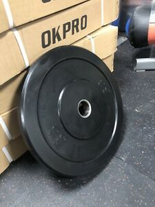 Pair of 15kg plates (2 X 15kg) bumper plates,New and boxed weightlifting,