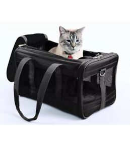 SHERPA Pet Dog Cat Carrier Airline Approved Travel Portable Crate Bag Soft Tote