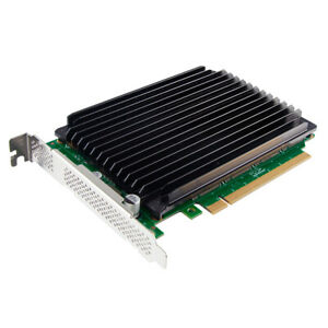 NVMe SSD Adapter Card, PCIe x16, (4) M.2 NVMe connectors, NV95NF