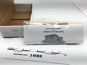 1032 Grand River Models Kit #3 Forest City Welding Building S Scale Sealed Kit