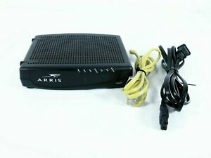 Arris TM822A Telephony Cable Touchstone Ultra-High Speed DOCSIS 3.0 with PC