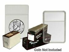 2x3 Display Slab with Foam Insert-Combo, Half Dollar White by BCW 25 pack
