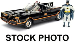 Jada DC Classic TV Series Batman Batmobile Die Cast Car + Figure (damaged box)