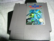 Nintendo NES Top Gun jeu Panier PAL