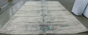GREY / MULTI 10' X 14' Back Stain Rug Reduced Price 1172558696 MNC209G-10
