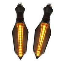 12V LED moto clignotant lumière ambre clignotant indicateurs frein arrière