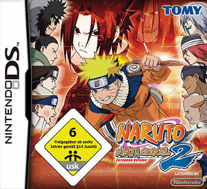 Naruto: Ninja Council 2 (Nintendo DS, 2008)