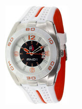 AND1 LOGO Dial Basketball 51001 Date Sports Men's Watch  ~ GREAT GIFT