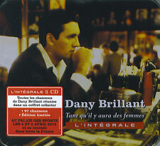 Dany Brillant : Tant qu'il y aura des femmes - L'intégrale - Ed. Limitée (5 CD)
