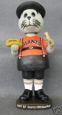 07 San Francisco Giants German Octoberfest Lou Seal Mascot Bobble Bobblehead SGA