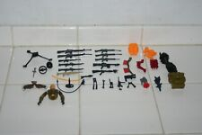 Vintage Gi Joe Cobra A-Team Weapons and Accessories Lot + New Items Added